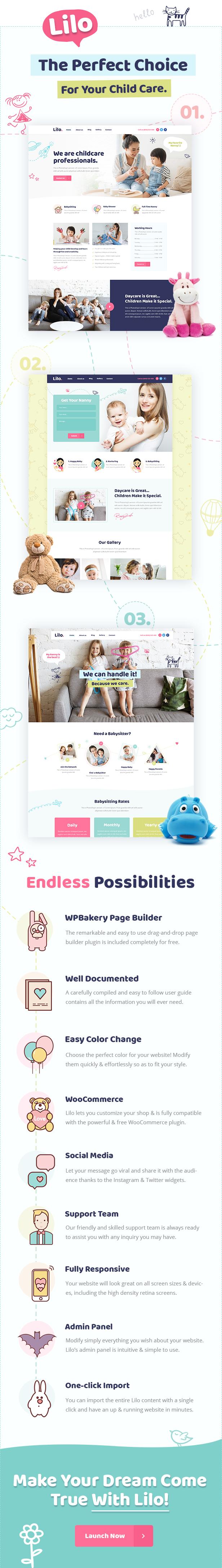 Lilo - Babysitting and Child Care Theme - 1